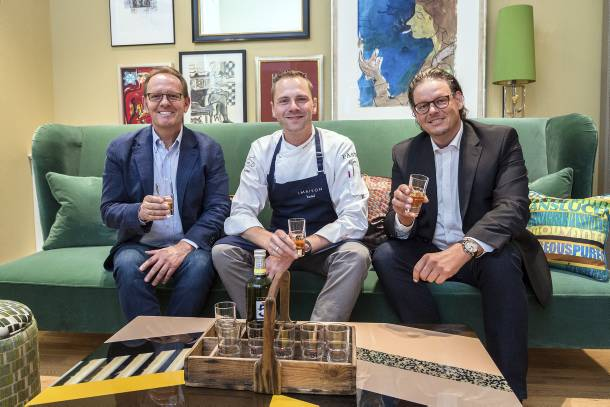 Günter Wagner, Martin Stopp und Hoteldirektor Alexander Reber (von links) sehen gespannt ihren neuen Aufgaben entgegen. - Foto: Dirk Guldner